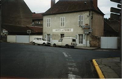 L'hôtel de France de Jaligny