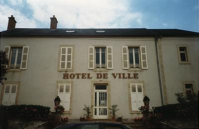 L'hôtel de Ville de Jaligny