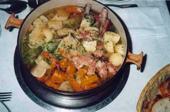 Une soupe aux choux